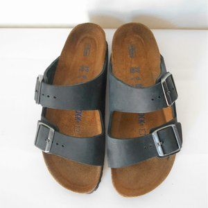 BIRKENSTOCK Leather Arizona Soft Footbed Sandals
